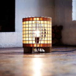 Lampe Cryptex Marron, Massow Design, 144€